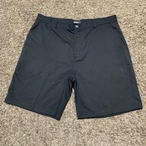 ADIDAS Golf Shorts Charcoal Grey Mens Size 38